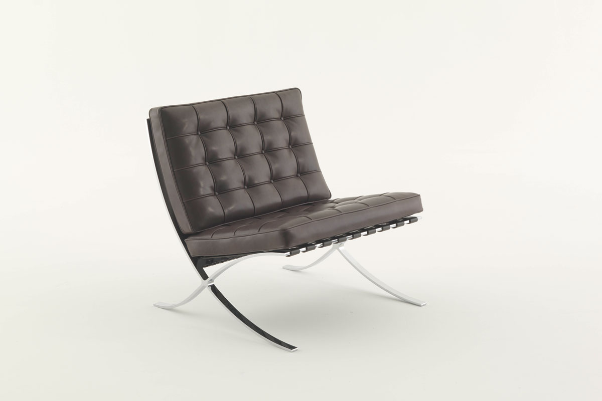 knoll barcelona chair new comfort door ludwig mies van der. Black Bedroom Furniture Sets. Home Design Ideas