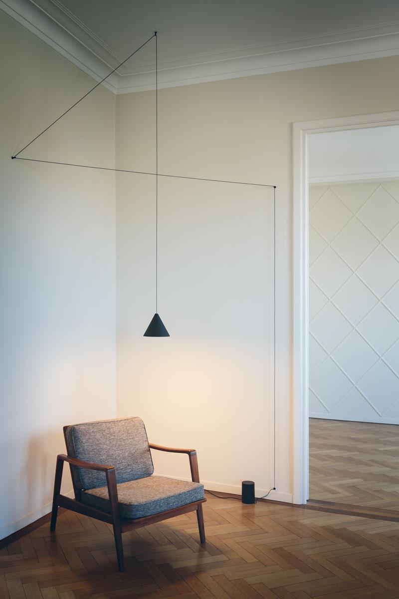 flos string lights door michael anastassiades design. Black Bedroom Furniture Sets. Home Design Ideas