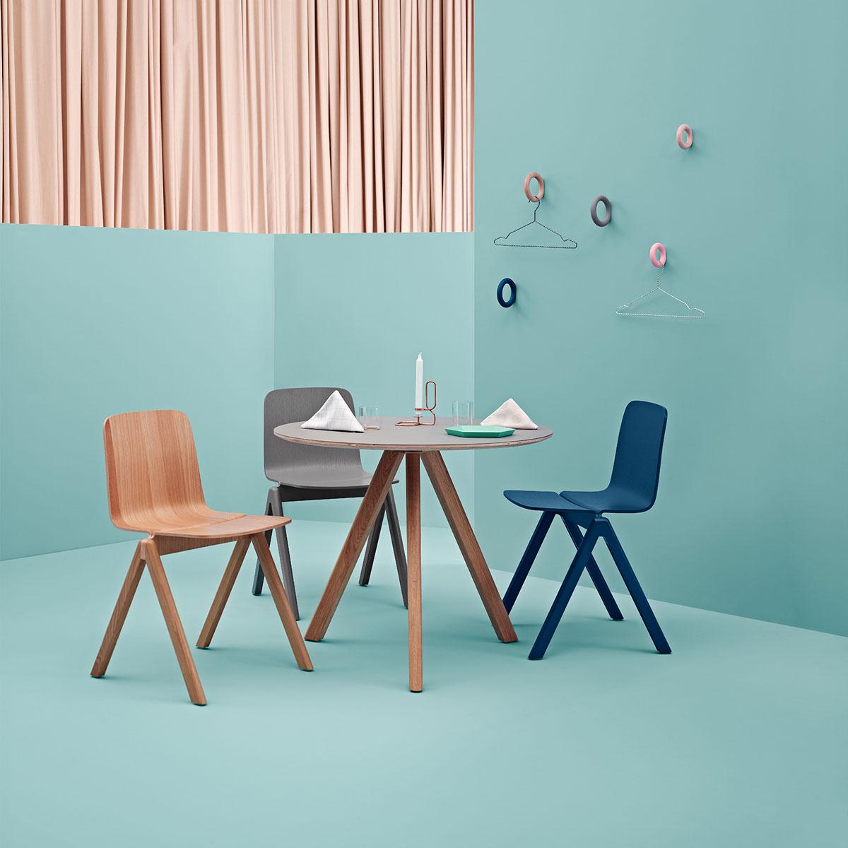 hay cph20 copenhague round table door ronan erwan. Black Bedroom Furniture Sets. Home Design Ideas