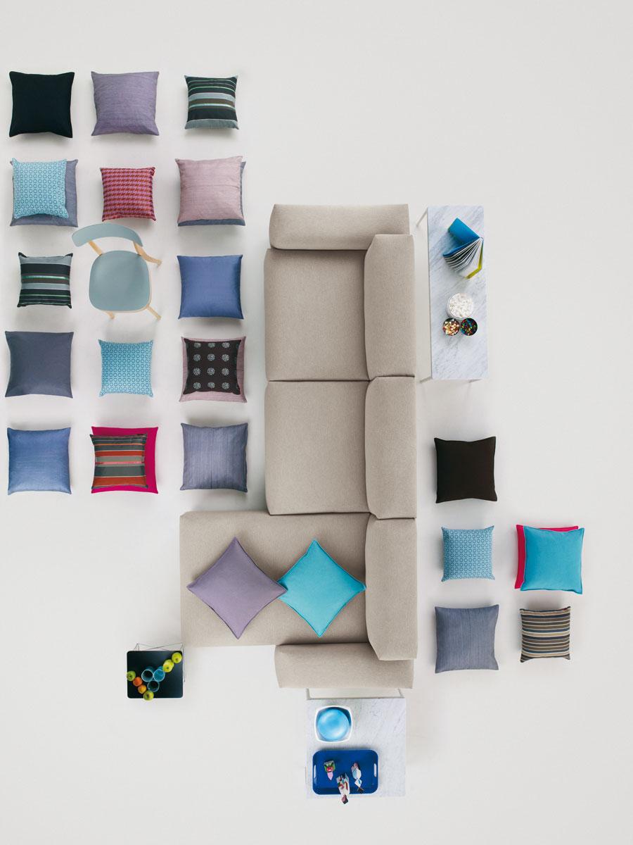 vitra place sofa door jasper morrison design oostende. Black Bedroom Furniture Sets. Home Design Ideas