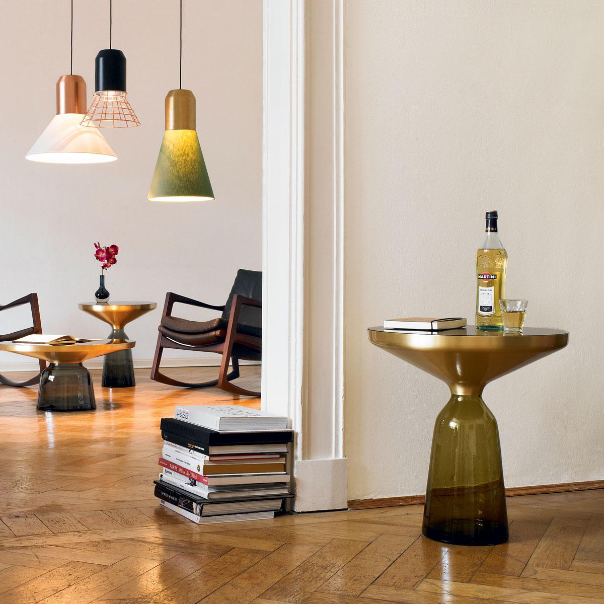 classicon bell table side table door sebastian herkner. Black Bedroom Furniture Sets. Home Design Ideas