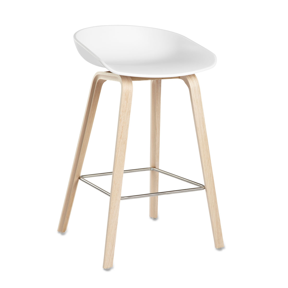 Pin hay about a stool aas32 tabouret blanc amp ch ne on - Tabouret hay about a stool ...