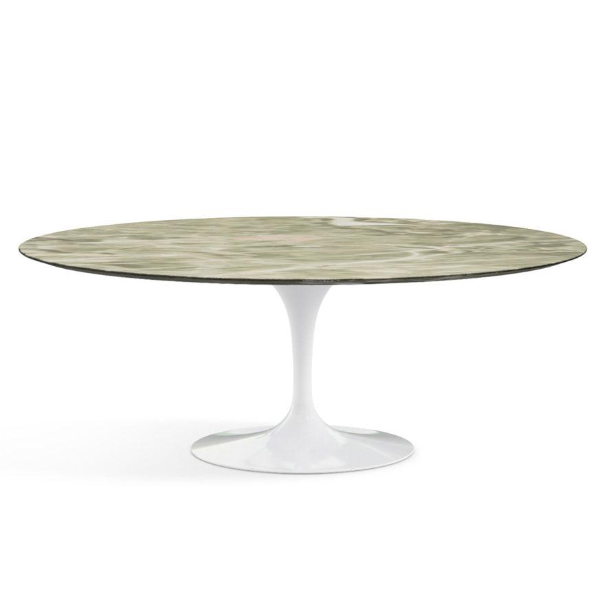 Knoll saarinen table door eero saarinen design oostende - Tavolo knoll saarinen ovale ...