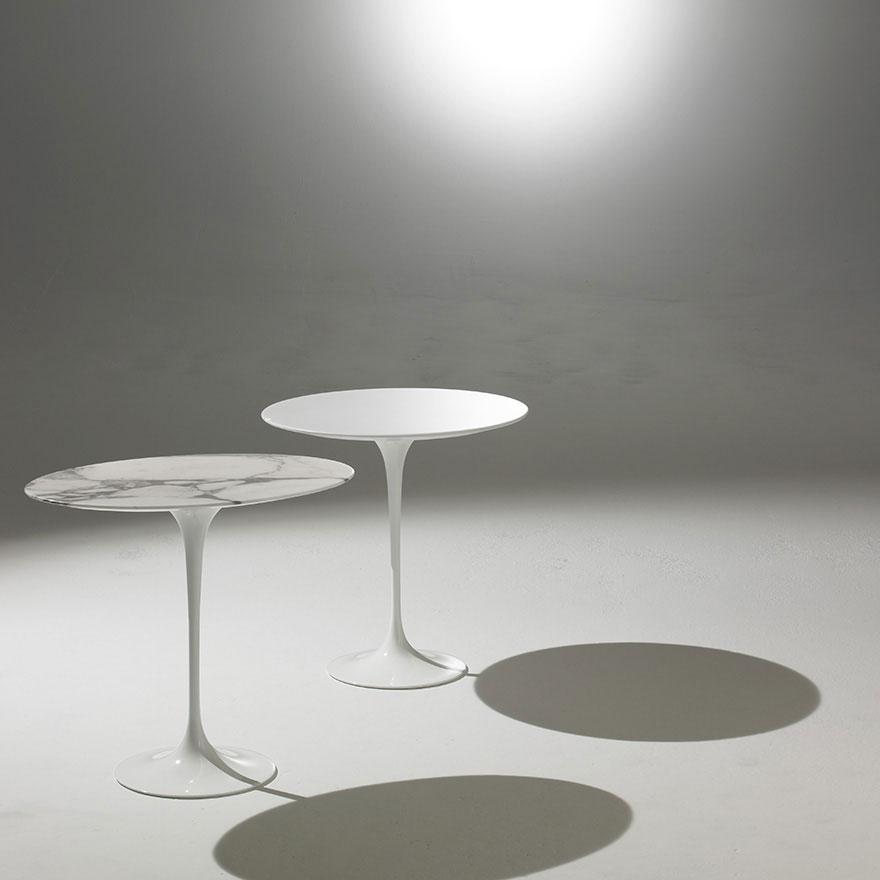 Knoll saarinen table door eero saarinen design oostende - Table saarinen knoll ...