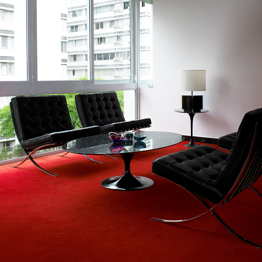 knoll saarinen table door eero saarinen design oostende. Black Bedroom Furniture Sets. Home Design Ideas