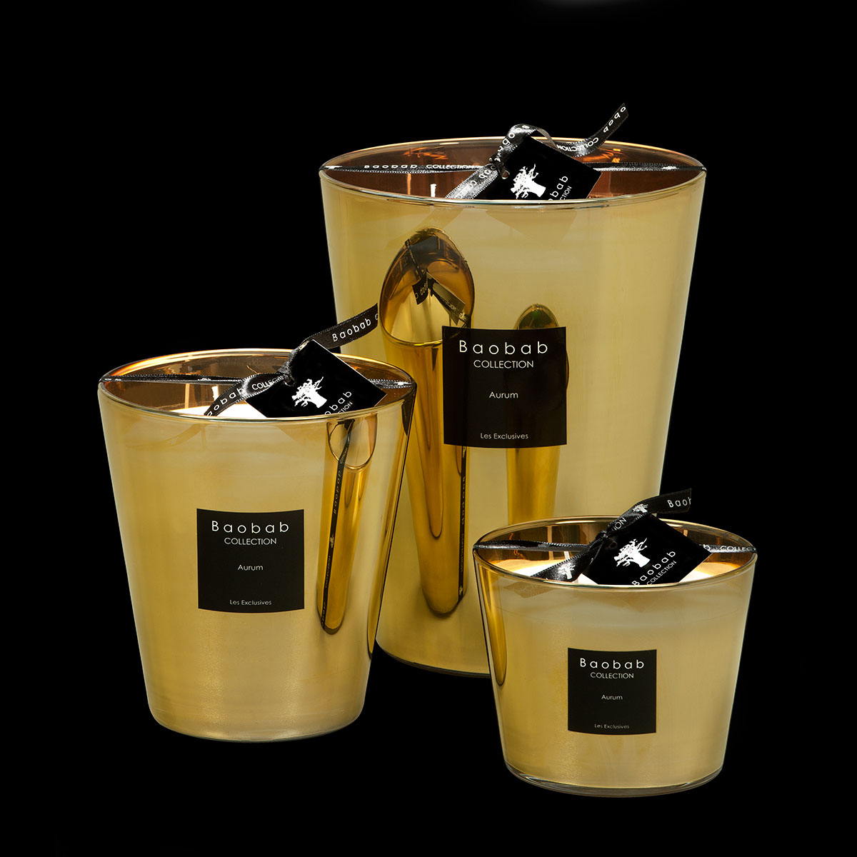 baobab collection aurum gold candle design oostende. Black Bedroom Furniture Sets. Home Design Ideas