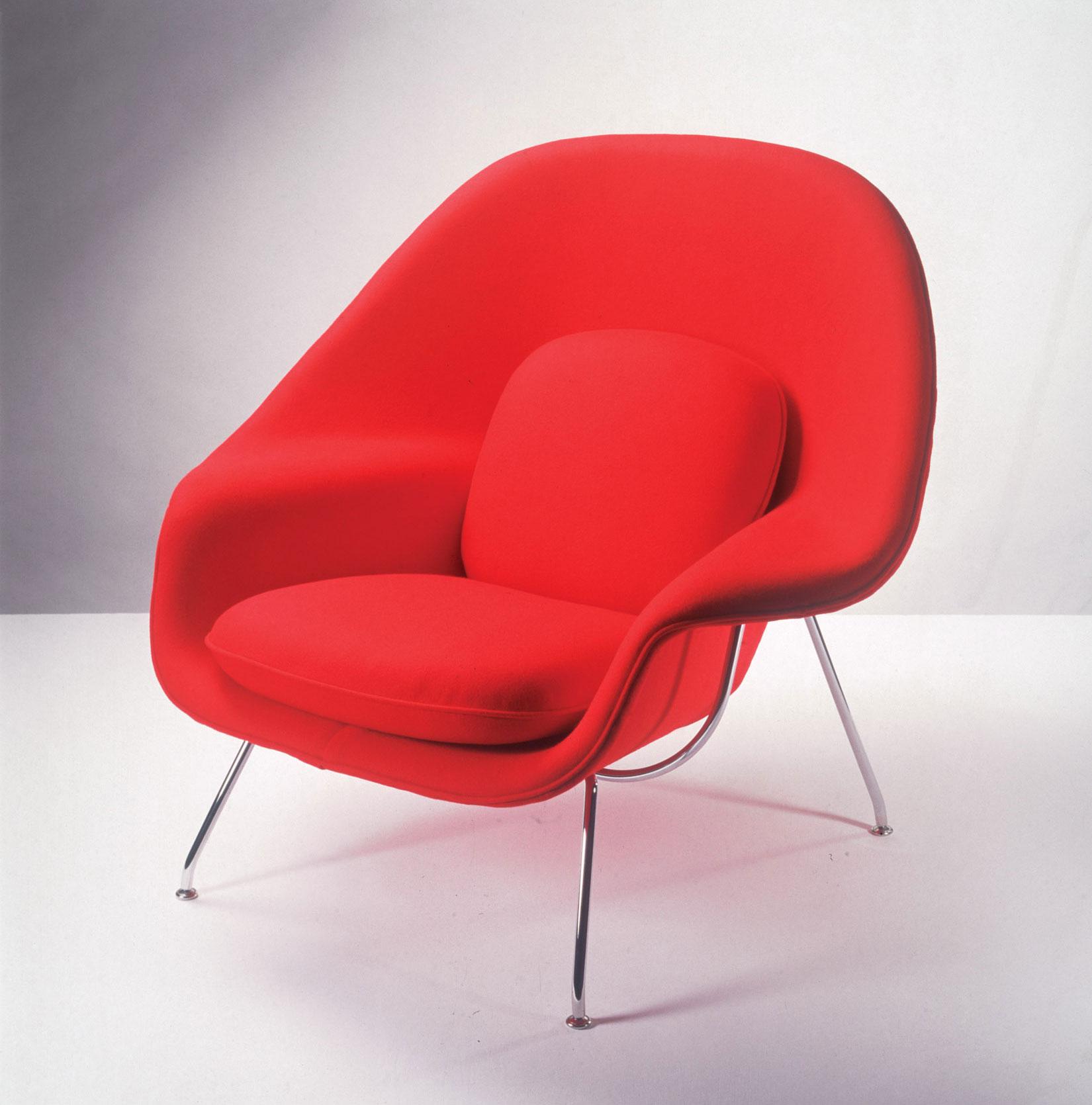 Knoll womb chair door eero saarinen design oostende - Tafels knoll ...